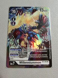 Millenniummon | NM/M | BT2-083 SR | Digimon Card Game