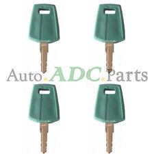 4pcs C001 Ignition Keys for Volvo F Series Loader L60F L70F L90F L110F L120F