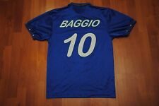 VTG DIADORA ITALIA SOCCER TEAM JERSEY BAGGIO 10 ITALY SMALL S WORLD CUP 1994