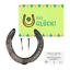 Indexbild 1 - echtes Pferdehufeisen mit Hufnägeln Echtheitszertifikat Glücksbringer Geschenk