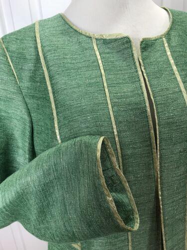 Grøn Forforet Åben Nwt New 109 Jones Jakke Lime York April 14w Guld Sz 1YwqfY