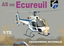 Mach-2  59 1/72 AS350 Squirrel Police French Helicopter