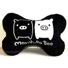 Monokuro Boo Black Car Seat Head Rest Neck Cushion Pillow One Pair
