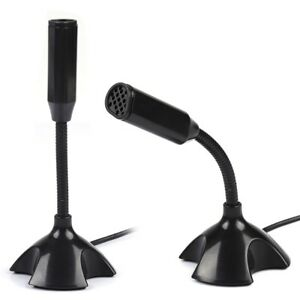USB-Microphone-with-Stand-for-PC-Macbook-Skype-Desktop-Easy-Computer-Mic-Laptop