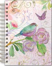 Punch Studio Stationary Spiral Bound Journal – Lavender Bird 42327