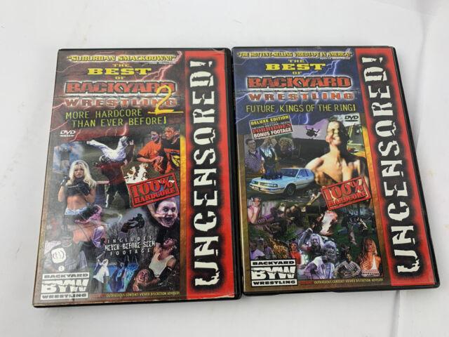 The Best of Backyard Wrestling (DVD, 2001) for sale online ...