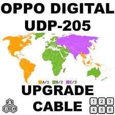 OPPO DIGITAL UDP-205 REGION FREE UNLOCK HARDWARE UPGRADE CABLE KIT NO SOLDERING