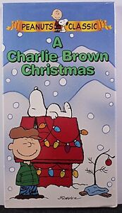 A Charlie Brown Christmas Vhs.Details About A Charlie Brown Christmas Vhs Videotape Peanuts Classic Tv Show Snoopy Linus New