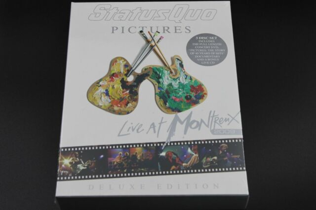 Status Quo - Pictures: Live At Montreux 2009 (2009) (2xDVD+CD) (Neu+OVP)