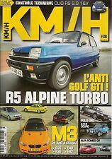 KM/H 38 BMW M3 E30 E36 E46 E92 PEUGEOT 207 RC A112 ABARTH 70hp R5 ALPINE TURBO