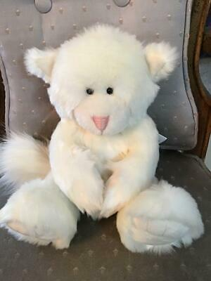 "10"" New With Tags Reasonable Alice's Bear Shop Snowie Plush Cat By Charlie Bears Bears"