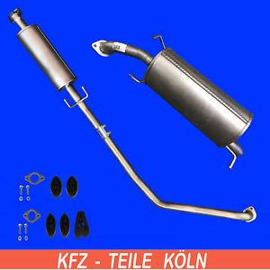 Chevrolet Kalos 1.2 1.4 Endschalldämpfer Auspuff Endtopf Montagesatz