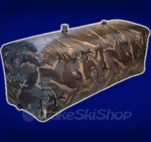 FLY HIGH FAT SAC WAKEBOARD SURF BOAT LIMITED CAMO BALLAST BAG 750LBS W707