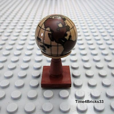 Lego New World Globe Pirate Map Sphere World that Spins Hemisphere