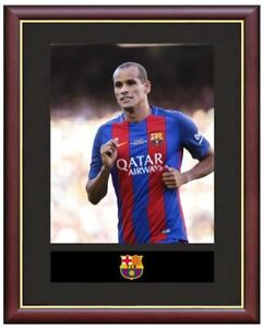 Rivaldo-Mounted-Framed-amp-Glazed-Memorabilia-Gift-Football-Soccer