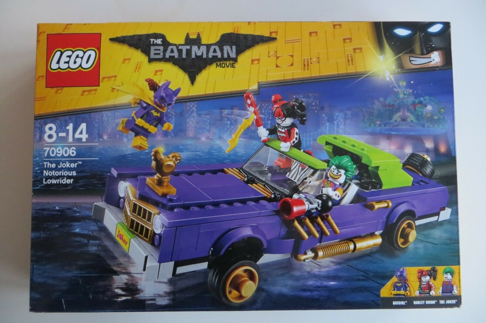 New Sealed Super Heroes 70906 70906 70906 The Joker Notorious Lowrider batman bfab0b