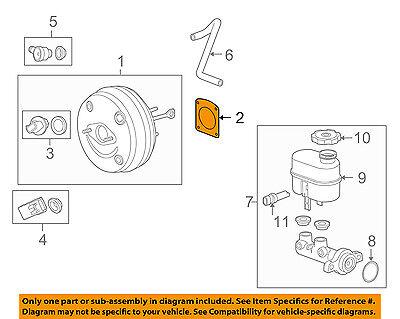 ACDelco 15974046 GM Original Equipment Power Brake Booster Gasket