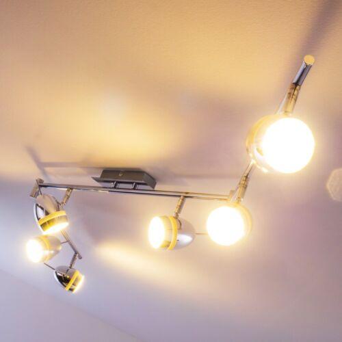 LED Design Deckenleuchte Deckenspot Leuchte Deckenlampe Chrom Deckenstrahler NEU