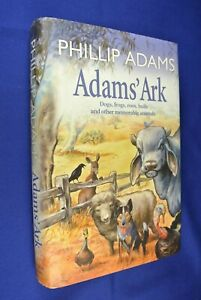 Signed-Book-ADAM-039-S-ARK-Phillip-Adams-PHILIP-ADAMS-ANIMAL-dogs-frogs-roos-bulls