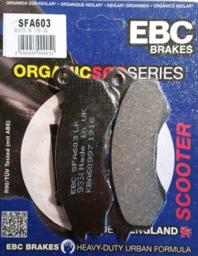 HONDA VISION NSC110 NSC50 Front Honda PCX125 EBC SFA603 Brake Pads