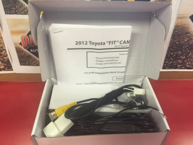 'PLUGandGO' Integrated Backup Camera System for Toyota 2012-2015 Prius C
