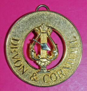 Devon & Cornwall Royal & Select Masters Past District Grand Organist jewel