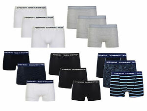 6bbce23dac1 Image is loading French-Connection-Boxer-Shorts-FCUK-Underwear -Stretch-Sporty-