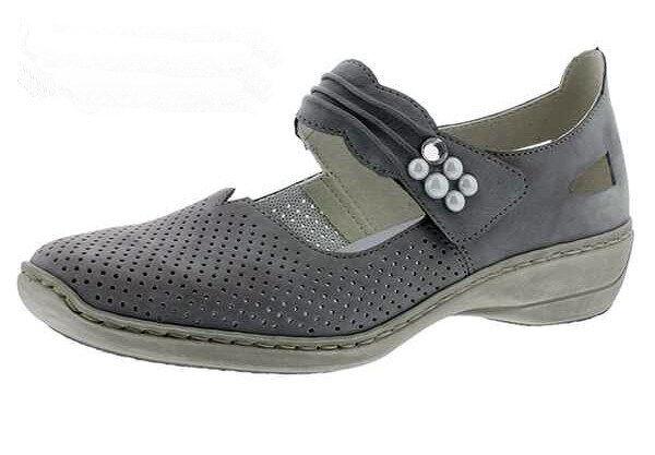 Rieker chaussures chaussures femmes Escarpins Ballerines, 413g2-41 +++ NEUF ++++