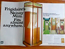 1970 Frigidaire Washer Dryer Ad Telephone Booth Skinny Mini