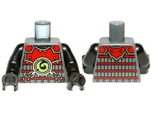 Lego Ninjago Minifigure body Torso Scout STONE WARRIOR Minifig Part 70502 70503