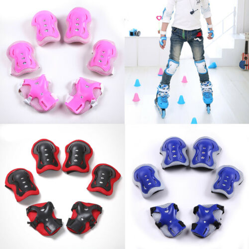 Elbow Wrist Knee Pads Sport Safety Protective Gear Guard for Kids Adult Skate