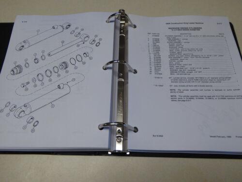 Phase 1 Book New with Binder Case 580K Loader Backhoe Parts Catalog Manual