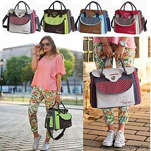 Fashion Large Capacity/Multifonction Mummy Bag Baby Diaper Nappy Bag