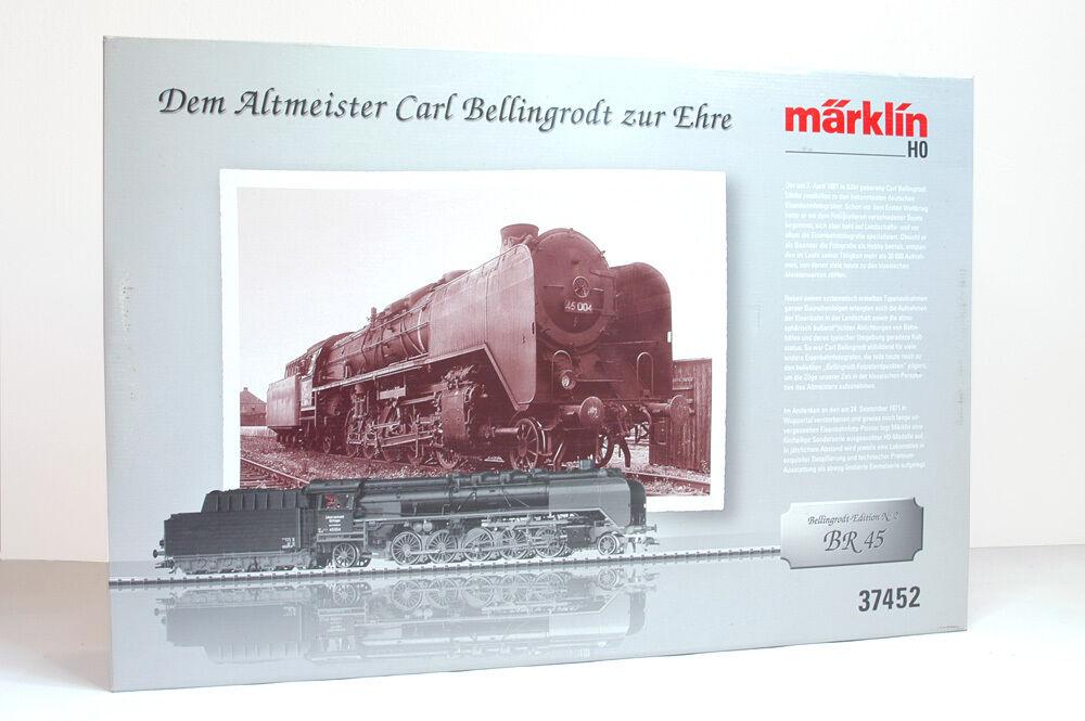 h0 37452 locomotiva BR 45 Bellingrodt Digital Sound perfette condizioni