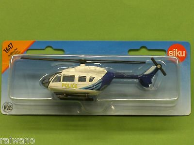 "Siku 2539 /""Police/"" Helikopter International weiss//blau Maßstab 1:55 NEU!°"