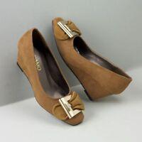 Womens Andiamo Mustard Center Shoe Size 7.5w 7.5 W