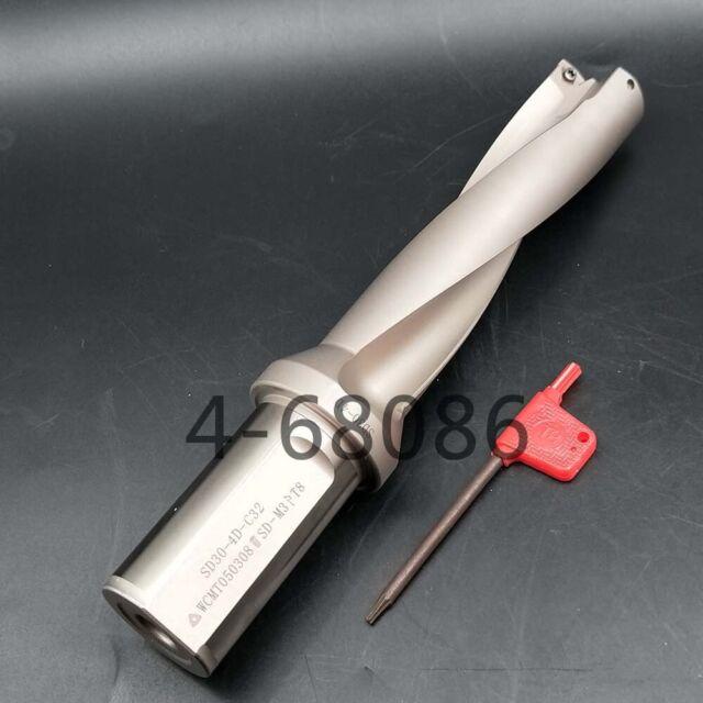 WPD 290-C32-3D 29mm U drill indexable drill For WCMX050308 CNC U drill insert