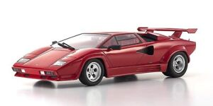 1 18 Kyosho Lamborghini Countach Lp5000 Qv Red With Red Rear