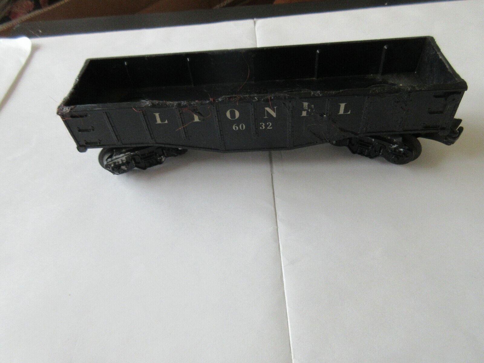 Lionel , Postwar , 6032 , Gondola Car , 0 Gauge , Fair