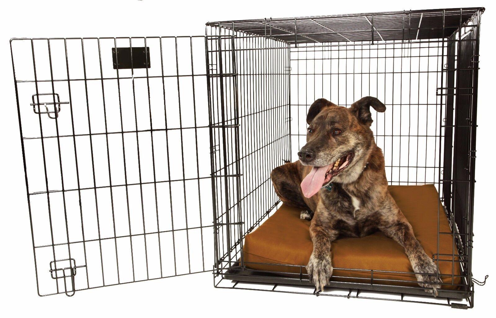 Big Barker 4 Orthopedic Dog Crate Pad. Waterproof. Mat fits standard dog crates