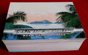 Thunderbirds The Movie Complete 72 Card Base Set