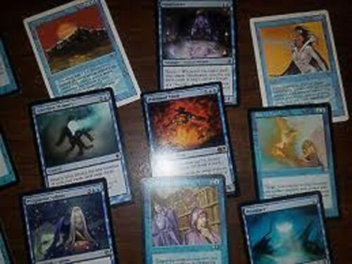 20X Random DIFFERENT Blue Rare Cards MTG Magic -20 Card Lot Collection Set
