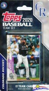 Colorado-Rockies-2020-Topps-Limited-Edition-17-Card-Team-Set-Nolan-Arendo-Story