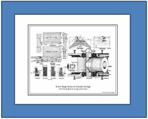 Print-of-Detailed-View-of-8-inch-Seacoast-Mortar