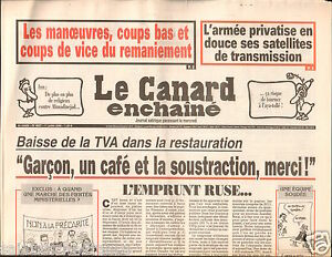 CANARD-ENCHAINE-Birthday-Newspaper-JOURNAL-NAISSANCE-1-JUILLET-JULY-2009