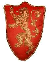 Official Game Of Thrones House Lannister Lion Sigil Throw Pillow