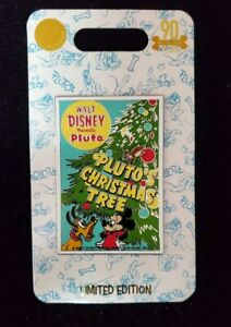 Disney-Pluto-90th-Anniversary-Pin-Pluto-039-s-Christmas-Tree-Limited-Edition
