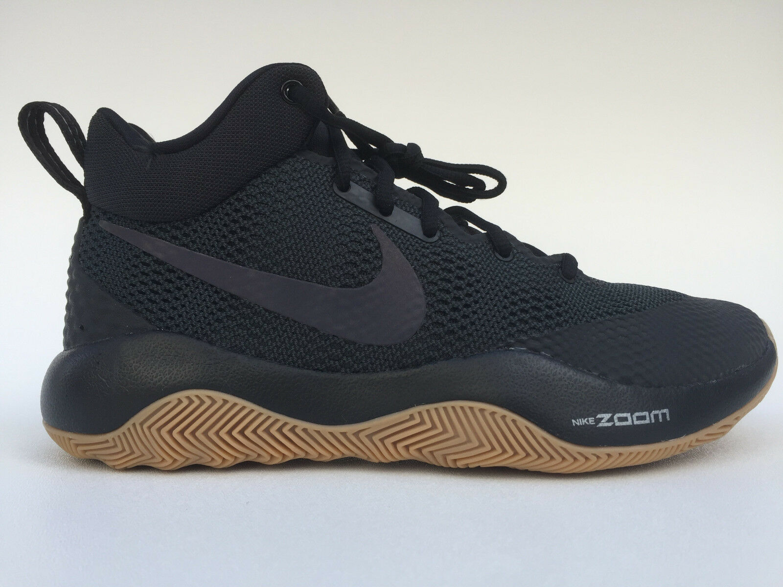 brand new e44be ccfd2 Men s NIKE Zoom Rev BASKETBALL Shoes Shoes Shoes Size 7.5-13 Black   Gum  Brown