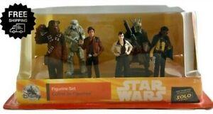 Disney-Solo-A-Star-Wars-Story-Han-Solo-Figure-Play-Set-6-Piece-Chewbacca-Qi-039-Ra
