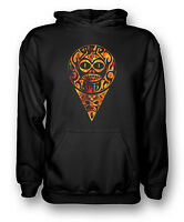 Aztec Tattoo Flames - Tribal - Mens Hoodie